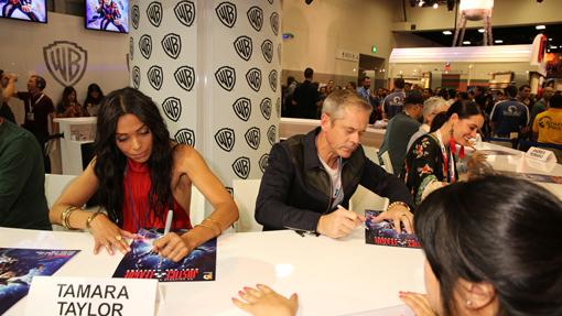 Tamara as Wonder Woman at San Diego Comic Con